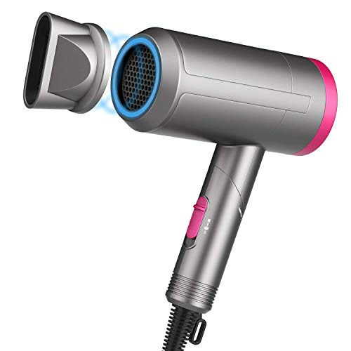 Paubea Radiation Free Hair Dryer - Folding Low Noise Small...