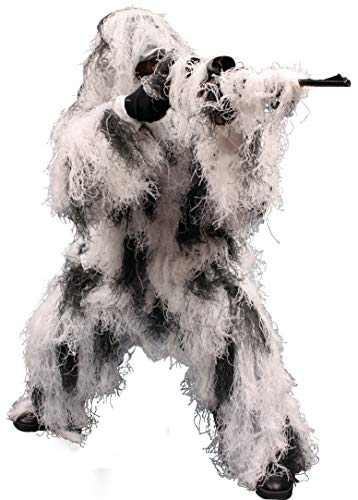 Red Rock Outdoor Gear - Ghillie Suit, Medium/Large, Snow