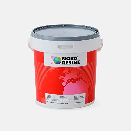 Guaina liquida impermeabilizzante Nortig 15 Nord Resine, colore grigio 5 Kg