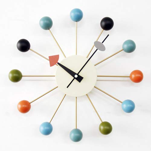 BALLclock(ボールクロック)マルチ色【正規ライセンス商品】【ジョージ・ネルソン】【壁掛時計】【ネルソンクロック】【高品質】【低価格】【デザイナー時計】
