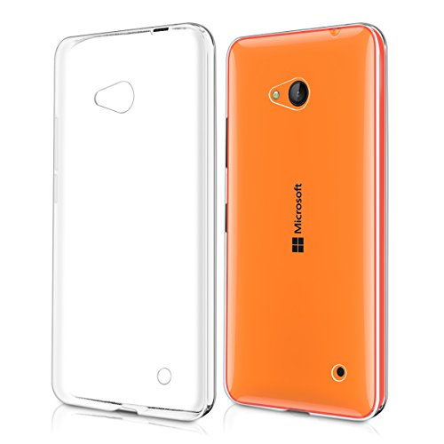 kwmobile Hülle kompatibel mit Microsoft Lumia 640 - Handyhülle - Handy Case in Transparent
