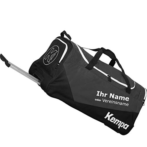 Kempa Sporttasche Trolley Teamline MEDIUM 59 x 31 x 33 cm 60 L + Aufdruck Name