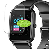 VacFun 3 Piezas Protector de Pantalla, compatible con Blackview R3 1.3' smart watch smartwatch, Screen Protector Película Protectora (Not Cristal Templado Funda Carcasa)