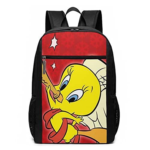 Tweety-Bird Mochila de viaje resistente al agua grande para ordenador portátil, mochila universitaria para mujeres y hombres, mochila de negocios