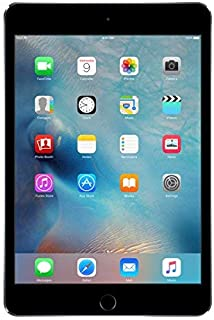 "Apple MK862B/A iPad Mini 4 64GB 7.9"" 8MP Wi-Fi Tablet in Space Grey (Refurbished)"