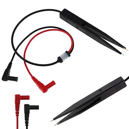 Zinniaya ANENG SMD Inductor de Prueba Medidor de Clip Sonda Pinzas LCR pluma de prueba Para Resistencia Multímetro Capacitor Prueba de Clip Multímetro Sonda