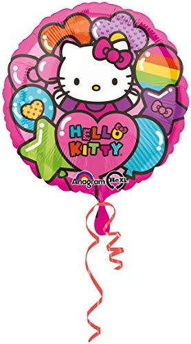 Anagram International Hello Kitty Rainbow Foil Balloon Pack, Multi kleuren