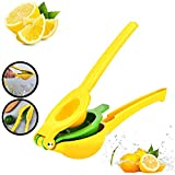 Linoxo Manual Lemon Squeezer Premium Quality Aluminum Lime Squeezers Bar Tool - Handheld Lemon Lime Juicer, Manual Hand Press Citrus Squeezer, Multi-Functional Lemon Lime Citrus Juicer Squeezer