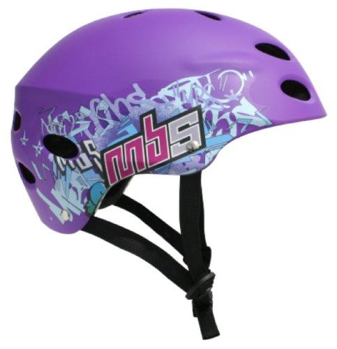 MBS Logos Helmet (Purple, Small/Medium)