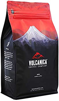 Volcanica Coffee Kopi Luwak Coffee, 16Oz