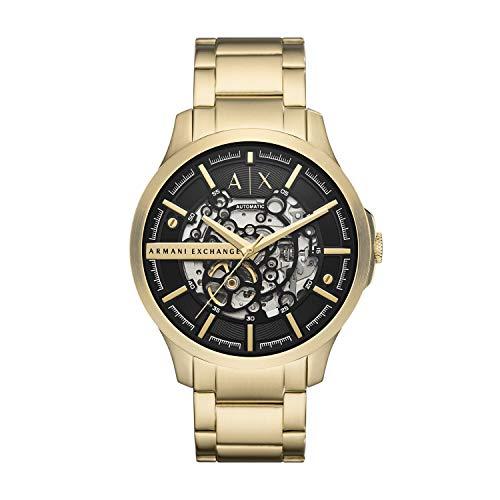 Armani Exchange Reloj Analógico para de los Hombres de Cuarzo con Correa en Acero Inoxidable AX2419