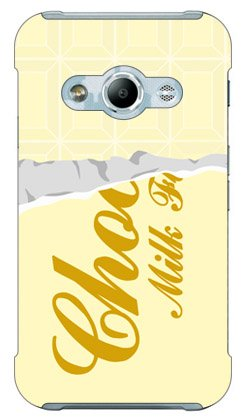 SECOND SKIN ホワイトチョコレート / for Galaxy Active neo SC-01H/docomo  DSC01H-ABWH-101-W001
