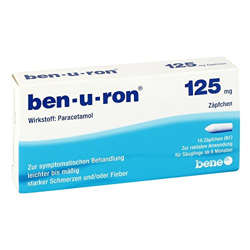 BEN-U-RON 125 mg Suppositorien 10 St