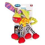 Playgro – Zany Zoo – Wonky Wiggler Dog – Kinderwagenkette