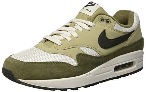 Nike Herren Air Max 1 Sneakers, Mehrfarbig (Medium Olive/Sequoia/Neutral Olive 001), 44.5 EU