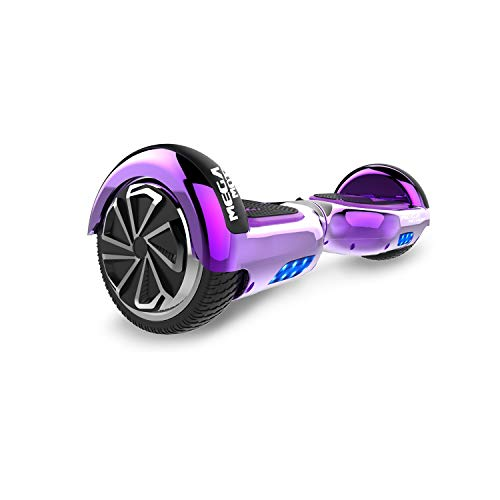 SOUTHERN-WOLF Hoverboard, Self Balance Scooter 6.5 Pollici Monopattino Elettrico Smart Auto bilanciato Bluetooth Scooter Elettrico con Due Ruote Board Hover (Purple)