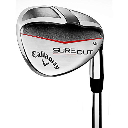 Callaway Golf 2017 Men's Sureout Wedge, Right Hand, Steel, Wedge, 56 degrees