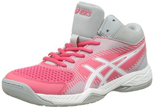 Asics Gel-Task MT, Zapatillas Deportivas para Interior Mujer, Rojo (Rouge Red/White/Mid Grey), 40.5 EU