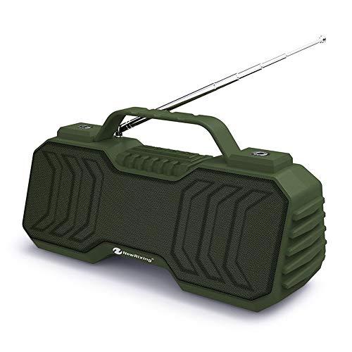 XIXV La Nueva Minifalda portátil estéreo portátil Tarjeta de Regalo Impermeable inalámbrica Bluetooth Altavoz de subgraves teléfono del Coche Boombox (Color : E, Size : 21 * 10 * 8.5cm)