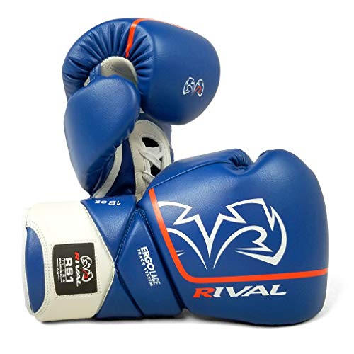 Rival Boxhandschuhe RS1 Ultra Sparring Handschuhe 2.0 Blau Boxen Schlagtraining, blau, 453,6 g (16 oz)