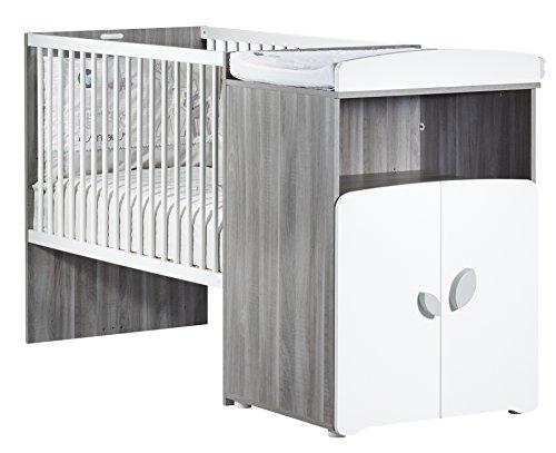 Baby Price New Nao - Cama combinada evolutiva para bebé, 120x60cm y 90x190cm