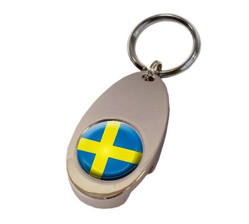 Asbri Suecia Crested Golf Tech Llavero