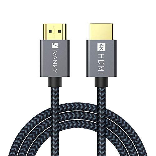 HDMI ケーブル【3M/4K対応/スリム端子/保証付き】iVANKY プレミアムHDMI2.0規格 18gbps 4K60Hz/HDR/3D/イー...