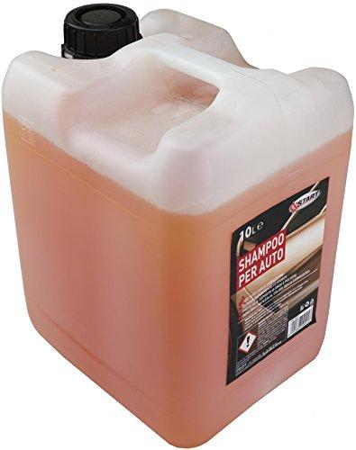 GNP Shampoo per Auto 10Lt Cura Pulizia E Lavaggio Cura Automobile Accessori