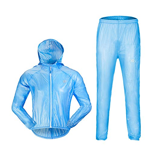 Guyuan Jersey Impermeable para Hombres y Mujeres Bicicleta de montaña Bicicleta eléctrica...