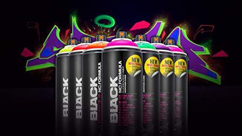 Set di bombolette spray dai colori neon/fluorescenti - 6X 400ml