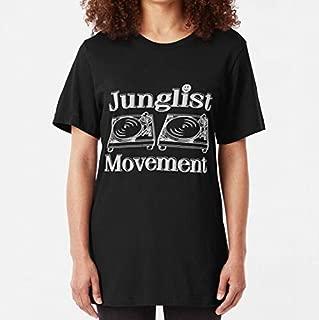 Junglist Movement Slim Fit TShirt, Unisex Hoodie, Sweatshirt For Mens Womens Ladies Kids