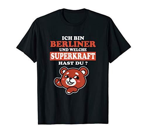 Berliner Bärchen Für Berlin Mit Kind Fan In Berliner Luft T-Shirt