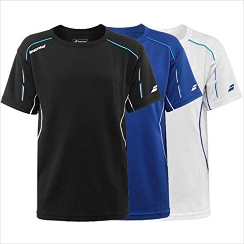 BABOLAT Match Core Jungen T-Shirt, WeiÃ?, 6-8 Jahre