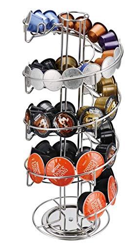 Quailitas, Supporto da 36 capsule per Nespresso e Dolce Gusto