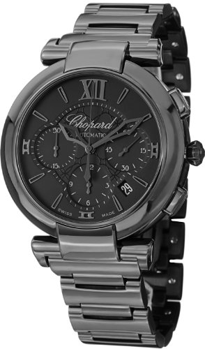 Chopard Imperiale Automatic Chronograph Black Dial Mens Watch 388549-3005