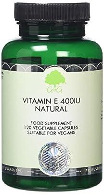 G&G Vitamins Vitamin E 400iu Natural D-Alpha Capsules by G&G Vitamins
