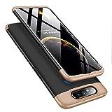 MRSTER Funda Samsung A80-360 Grados Protección Cubierta PC Hard Case Anti-Shock Anti-Scratch 3 in 1 Ultra Slim Caso Cover Carcasa para Samsung Galaxy A80 / A90