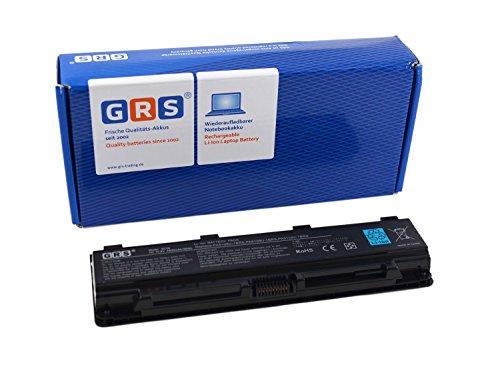 GRS Akku für Toshiba C40, C45, C50, Satellite C50T, C55DT, C70, C75, Satellite Pro C70, ersetzt: PA5108U-1BRS, PA5109U-1BRS, PA5110U-1BRS, PABAS271, PABAS272, PABAS273