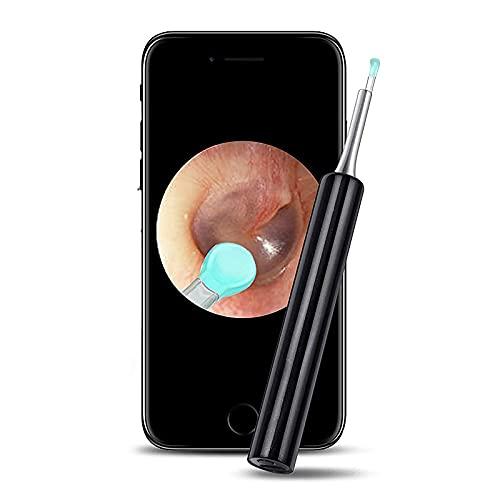 ZTHHS Herramienta para Eliminar Cera de oídos, cámara limpiadora de oídos Profesional,...