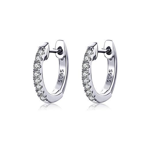 Sterling Silver Dainty Huggie Earring Small Huggie Hoop Earring $6.99 (50% Off with code)