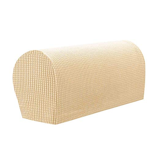 Dirgee 2 stücke Sessel Abdeckungen für Arme Armlehne Stuhlabdeckungen Stretch Spandex Polyester Armkappen, Armruhe Abdeckung Anti-Rutsch Sofa Stuhl Slipcover für Möbelschutz