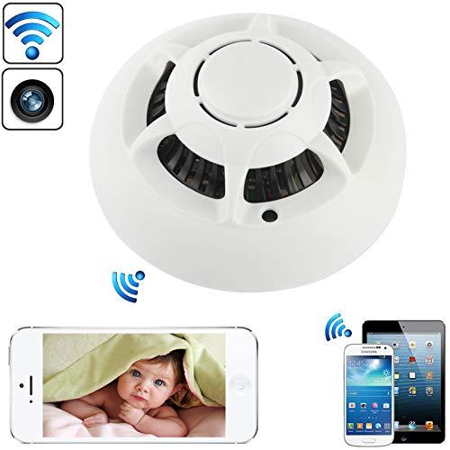 GJPAJGID, bewakingscamera, UFO, wifi, bewakingscamera, DVR, voor iPhone 5, iPhone 4 & 4S, iPad Mini, Mini 2 Retina, nieuwe iPad/IOS/Android OS apparaten, wit
