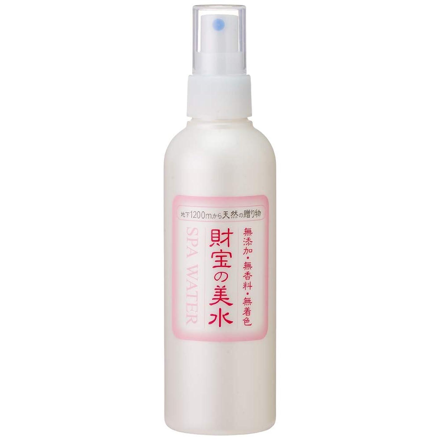 適応する相談する週間財宝 温泉 美水 ミスト 化粧水 200ml