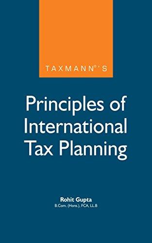 Taxmann's Principles of International Tax Planning (English Edition)