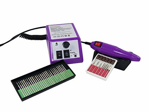 Ponceuse électrique pour Nail Art, manicure et pédicure - Violette