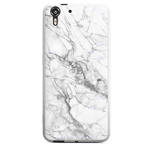 Silikon Hülle kompatibel mit HTC Desire Eye Case Schutzhülle Marmor Erscheinungsbild Frauen Marble