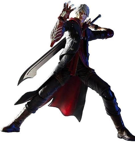 Devil May Cry 4 Play Arts Kai Figur  schwarz
