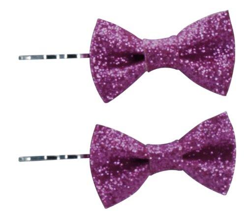 Remington Haarklammern mit Schleife, 1 x 2 Stück, pink