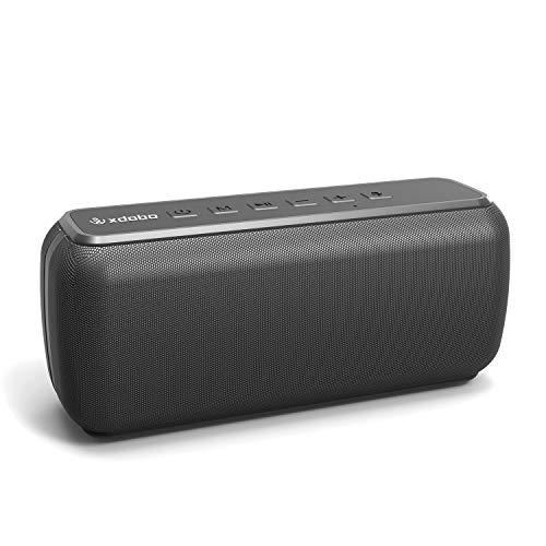 XDOBO Altavoz Bluetooth inalámbrico portátil impermeable 60 W altavoces al aire libre 360 HD sonido envolvente y ricos graves...