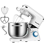 HOWORK Stand Mixer, 8L Bowl 1500W Food Mixer, Multi Functional Kitchen Electric Mixer